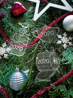 Holiday 2020 Ornament Set